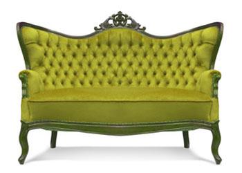 Böden Symbol-Couch