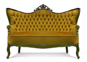 Stoffe Symbol-Couch
